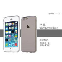 【TOTU】for iPhone6  晶系列  透明TPU+PC软硬壳  超强保护