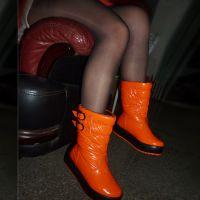 冬季新款中短筒女靴厚底松糕鞋马丁靴防水雪地靴棉鞋靴子女鞋子