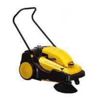 供应清扫石子树叶粉尘铁屑清扫车 驰洁手推式电动扫地车