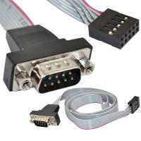 供应0.5米9针串口RS232主板COM线COM串口挡板线9DB电脑机箱内串口引线