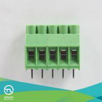 厂家供应 MU4H6.35 间距6.35 欧式接线端子 PCB线路板端子
