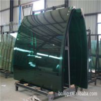 生产超大型工程热弯玻璃 3-22mm热弯玻璃 玻璃深加工 弯玻价格