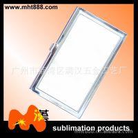 热转印空白耗材 F01-1热升华名片盒 金属名片盒  可印照片名片盒