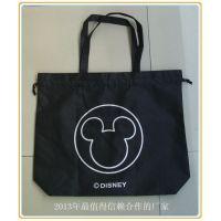 上海工厂通过迪士尼验厂定做无纺布束口广告手提袋