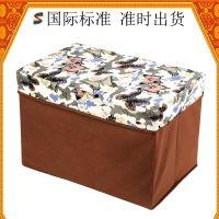 上海专业厂家提供生活用品收纳盒 无纺布牛津布收纳凳