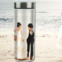派客定制 个性热转印保温杯定制照片 创意双层不锈钢真空保温杯