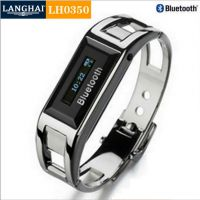 手表批发工厂 供应带时间显示蓝牙手表 时尚手机防盗蓝牙表