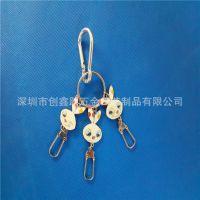 深圳厂家专业定制金属吊饰  卡通包包配饰吊饰  汽车标志钥匙扣