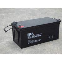 MCA蓄电池FC12-120报价锐牌MCA铅酸蓄电池12V120Ah价格