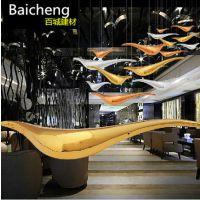 创意家居酒吧酒店高档天花吊顶空中吊饰挂饰挂件装饰艺术品抽象鸟