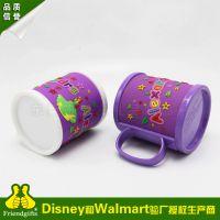 pvc软胶马克杯皮 pvc卡通动物马克杯 迪士尼创意新品马克杯定做