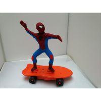 厂家直销 新奇特玩具 超人蜘蛛侠蝙蝠侠巴斯光年滑板玩具一件代发