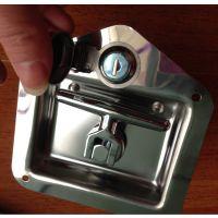 供应山东不锈钢工具箱锁T型拉手转舌面板锁SY124-1S防水