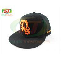 15年新款欧美休闲绣花棒球帽 HL10-248羊毛平板帽平沿街舞帽订购