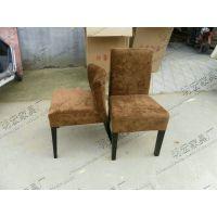大量供应欧式时尚绒布面吧椅咖啡椅 餐厅家具餐椅餐桌 MH-CY-26