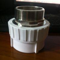 厂家直销  PPR管件接头20-110 PPR75*21/2内外丝直接
