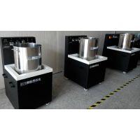 排气垫高效抛光去毛刺/BS-180V高品质磁力研磨机