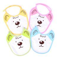 12B2-4*纯棉围嘴围兜 婴儿口水巾 宝宝纯棉口水巾 母婴用品