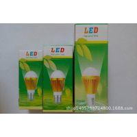 供应出口用LED中性英文包装3W5W7W9W12W彩印纸盒批发