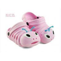 厂家直销热卖爆款—卡通毛毛虫儿童花园洞洞鞋 防滑耐磨舒适可爱