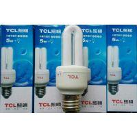 TCL节能灯 2U节能灯 5W黄光节能灯