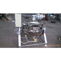 供应1000L电加热不锈钢夹层锅 蒸汽夹层锅 可倾式夹层锅