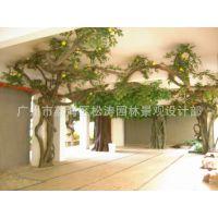 供应园林景观造景 藤本植物仿真PU藤条 客厅塑料假蔓藤