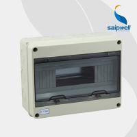 供应透明盖塑料电表箱 12回路配电箱/空开箱 SHT系列仿国外
