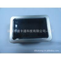 u盘厂家直销新款卡片式MP3U盘,带屏MP4,MP4,礼品,录音定制卡片u盘