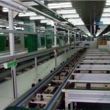 多道汇流输送系统 -物流传送设备-倍速链输送机-郑州水生机械