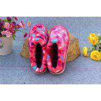 新款流行男女鞋春秋冬季居家休闲保暖包根孕妇月子加厚拖鞋
