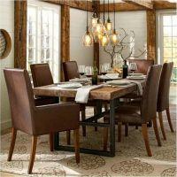 美式乡村家用餐桌 实木餐厅餐桌户外铁艺饭桌咖啡桌实木餐桌定制