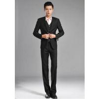 新款正装气质显瘦修身韩版三件套帅气男士西装宴会结婚礼服西装
