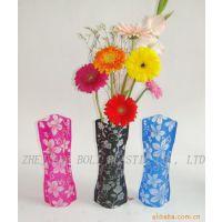 折叠花瓶 塑料花瓶 插花容器 塑料水壶 水瓶库存处理