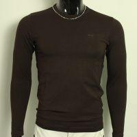 供应2013秋装小衫时尚流行修身精品男士长袖T恤简单铁标打底衫