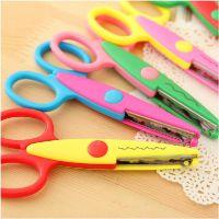 1244学生文具 可爱实用照片花边 手工DIY相册剪刀 儿童美术剪刀