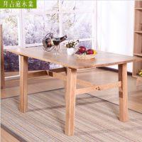 餐桌 白橡实木家用餐桌 餐厅家具 林氏 木业 厂家直销 家具批发