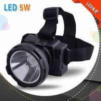 LED充电强光6000毫安锂电池头灯 露营头灯 野营照明灯 JGR-303