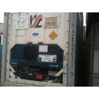 供应江浙沪6米/12米二手冷藏冷冻式集装箱,车载冷藏保鲜二手保温集装箱
