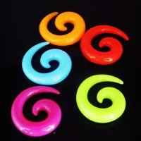 厂家批发ebay速卖通货源多种颜色男女通用亚克力耳扩耳饰欧美耳廓