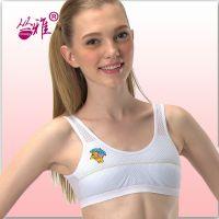 munv母女品牌少女运动型文胸学生发育期内衣弹力网内衣厂家直销