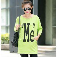 2014秋装女装新款韩版大码蝙蝠衫圆领打底衫长袖t恤女A0251