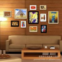 照片墙批发 欧式照片墙 DIY照片墙 PS相片墙 连体照片墙 小额批发