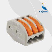 厂家直销照明器具用接线 222-413端子 CMK413 接线塑料端子