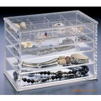 【热销】供应高透明度首饰收纳盒来样定做生产厂家】