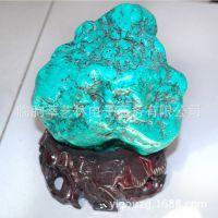 萃艺林 天然绿松石摆件 装饰家居商务礼品工艺礼品收藏14100601