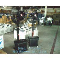 供应内蒙工业牛角扇、 强力工业电风扇、加水降温喷雾风扇
