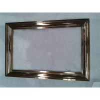 玫瑰金镜面不锈钢相框批发 艺术香槟金不锈钢相框造型