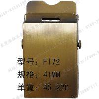 不锈钢平滑军扣扣头 可定制LOGO 专业设计  电镀多种颜色 35 40