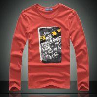 供应批发一件代发男装 男士长袖t恤男韩版男装T圆领打底衫Lpwt13520